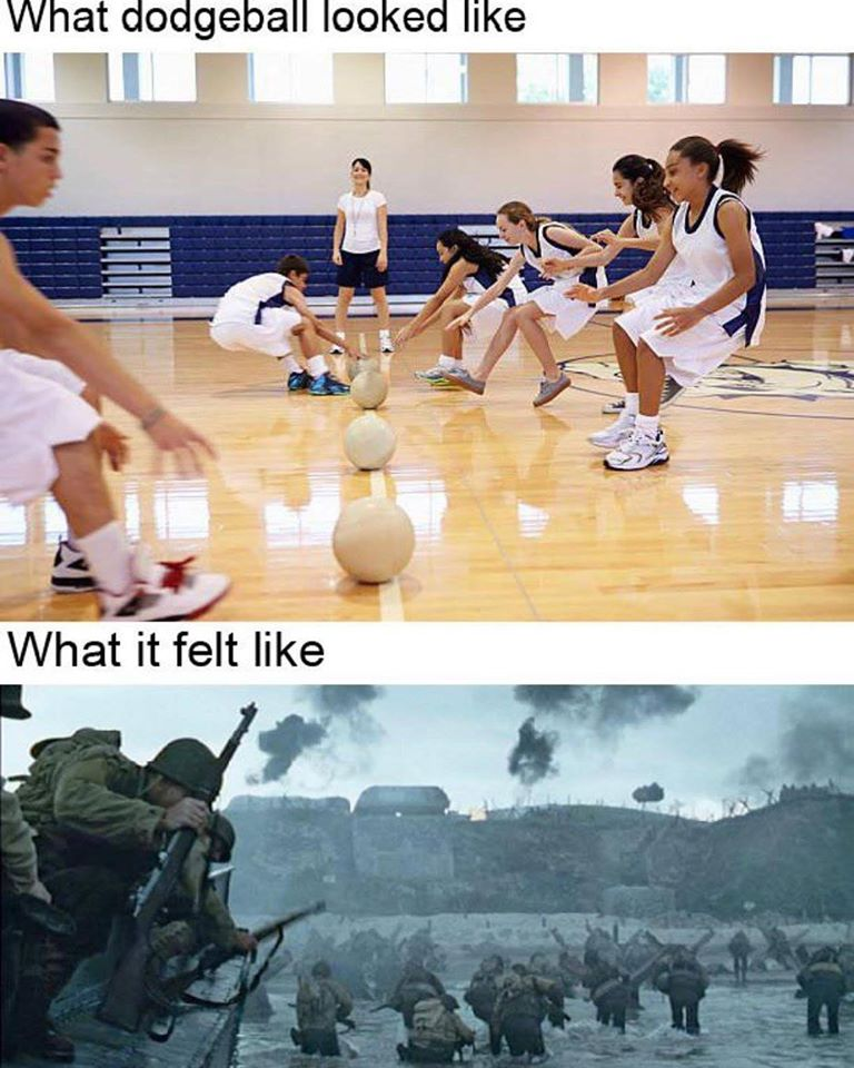 Dodgeball reality