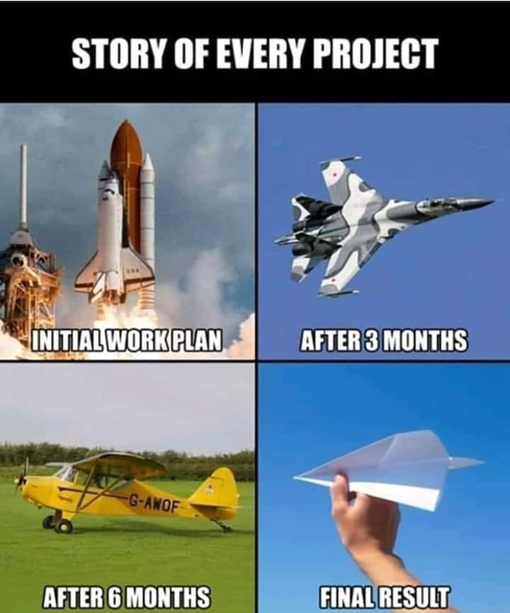 Story of every Project